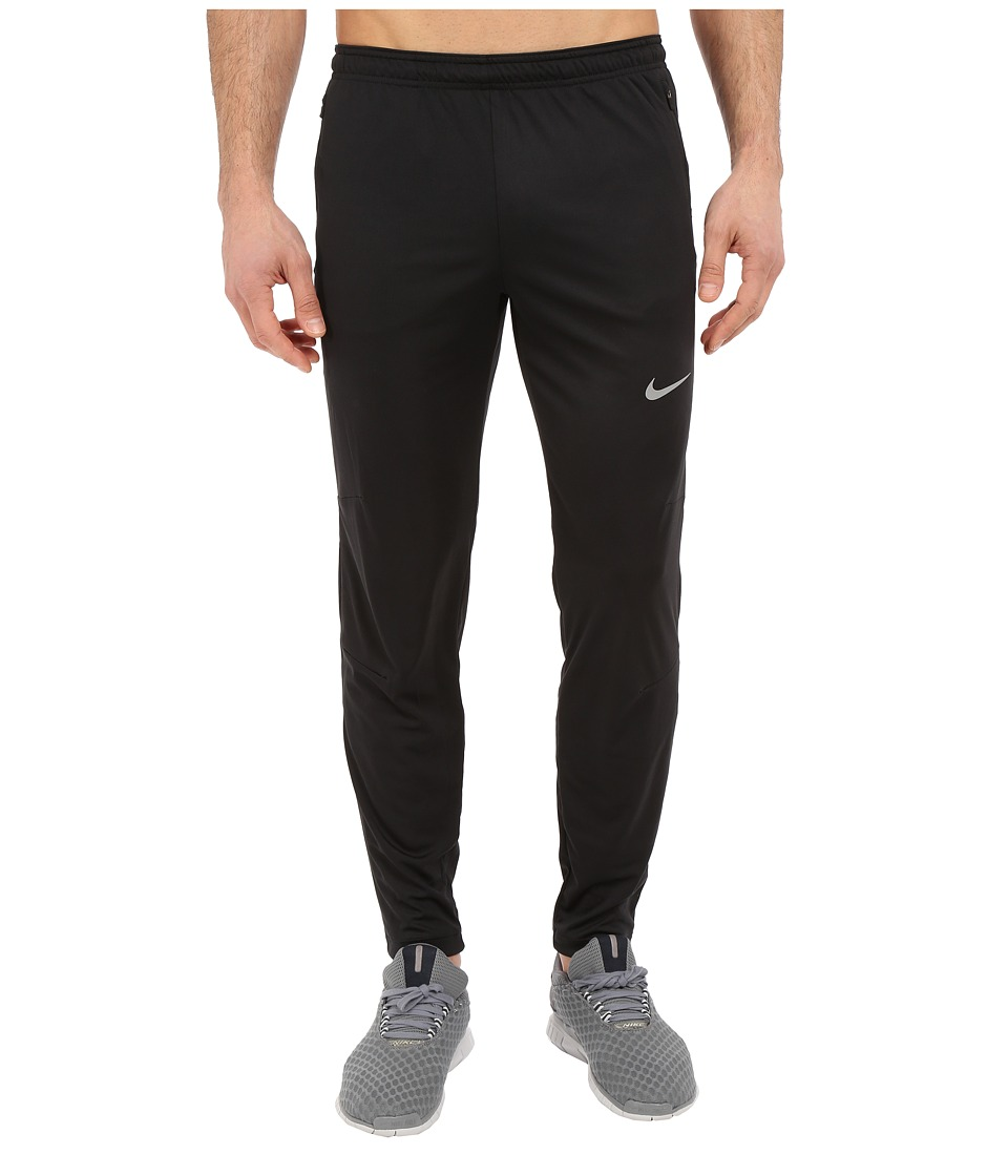 Nike - Racer Knit Track Pant (Black/Reflective Silver) Men's Casual Pants