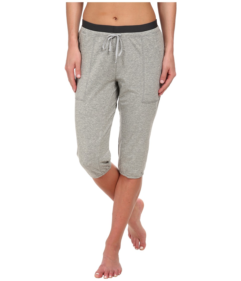 Nike - Lightweight Obsessed Training Capri (Dark Grey Heahter/Anthracite/Silver) Women's Capri