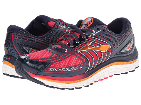 Brooks - Glycerin 12 (Raspberry/Midnight/Orange Popsicle) Women's Running Shoes