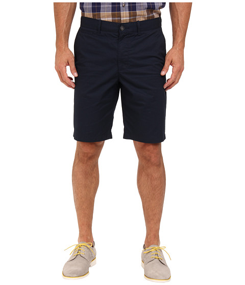 Original Penguin - Basic Flat Front Short (Total Eclipse) Men's Shorts