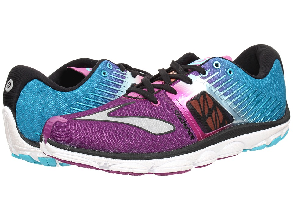 Brooks - PureCadence 4 (Holly Hock/Bluebird/Black) Women's Running Shoes