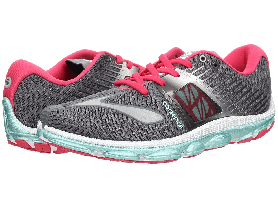 Brooks PureCadence 4 (Urban Grey/Raspberry/Beach Glass) Women