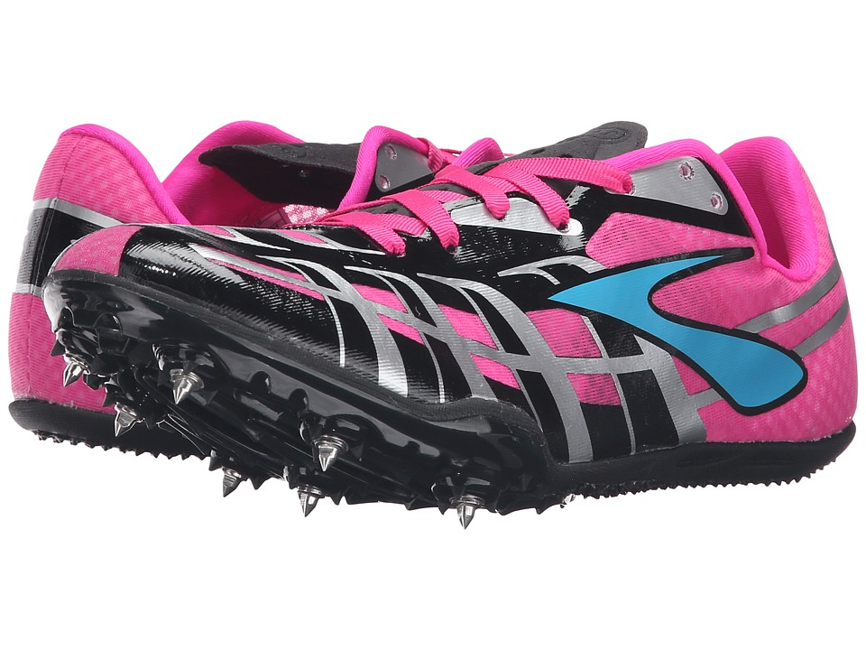 Brooks PR Sprint 3 (Pink Glo/Black/Caribbean) Women