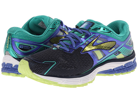 Brooks - Ravenna 6 (Dress Blues/Lagoon/Sharp Green) Women