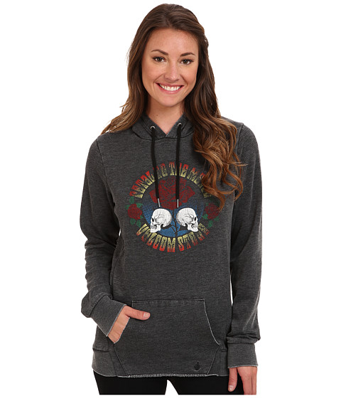 Volcom - Here With You Hoodie (Black) Women's Sweatshirt