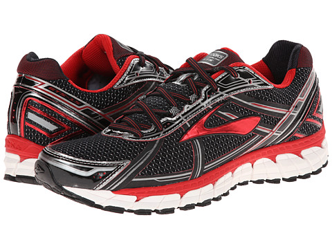 Brooks - Adrenaline GTS 15 (Black/High Risk Red/Anthracite) Men's Running Shoes