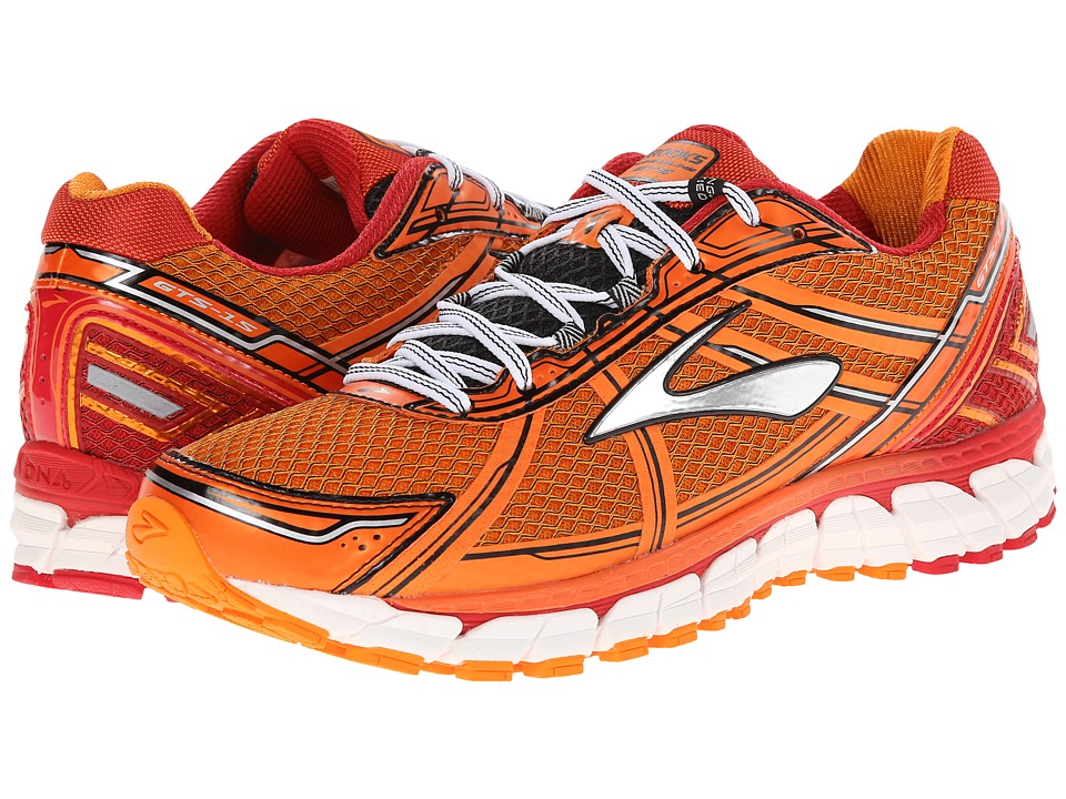Brooks - Adrenaline GTS 15 (Satsuma/Ribbon Red/Black) Men's Running Shoes