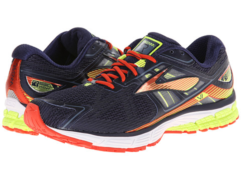 Brooks - Ravenna 6 (Peacoat/Torch/Nightlife) Men's Running Shoes