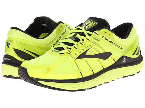 Brooks - Transcend 2 (LimePunch/Black) Men's Running Shoes