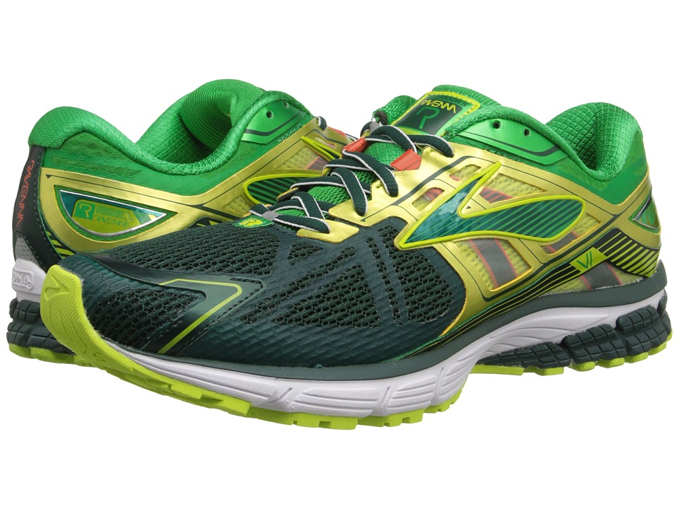 Brooks - Ravenna 6 (June Bug/Fern Green/Lime Punch) Men's Running Shoes
