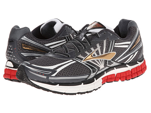 Brooks - Defyance 8 (Anthracite/Ribbon Red/Black) Men's Shoes