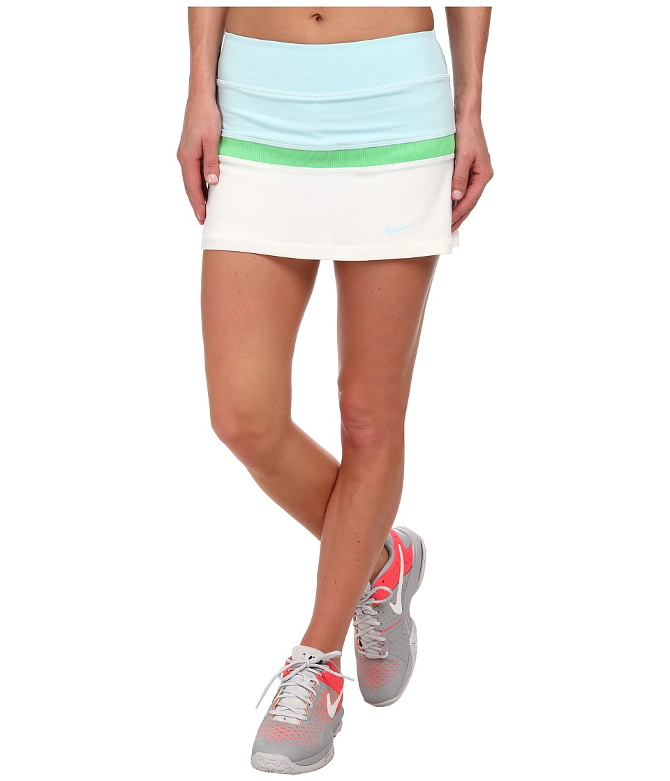 Nike - Court Skort (Ice/Clearwater/Clearwater/White) Women