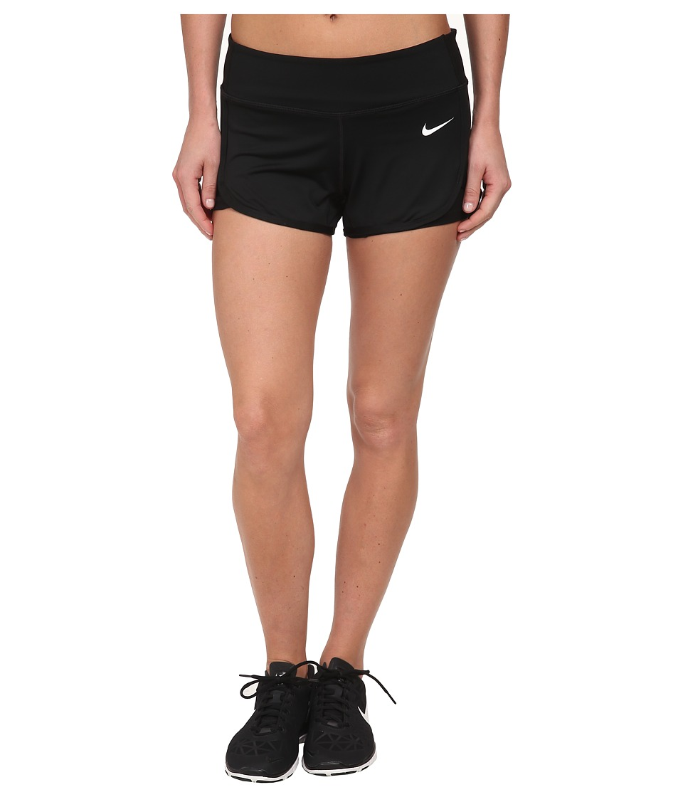 Nike - Ace Court Short (Black/Black/White Multi Snake) Women's Shorts