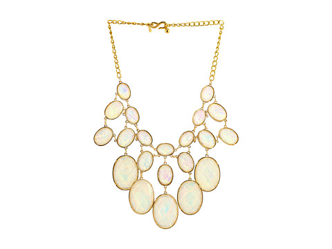 Kenneth Jay Lane - 2278NW (White Opaque) Necklace