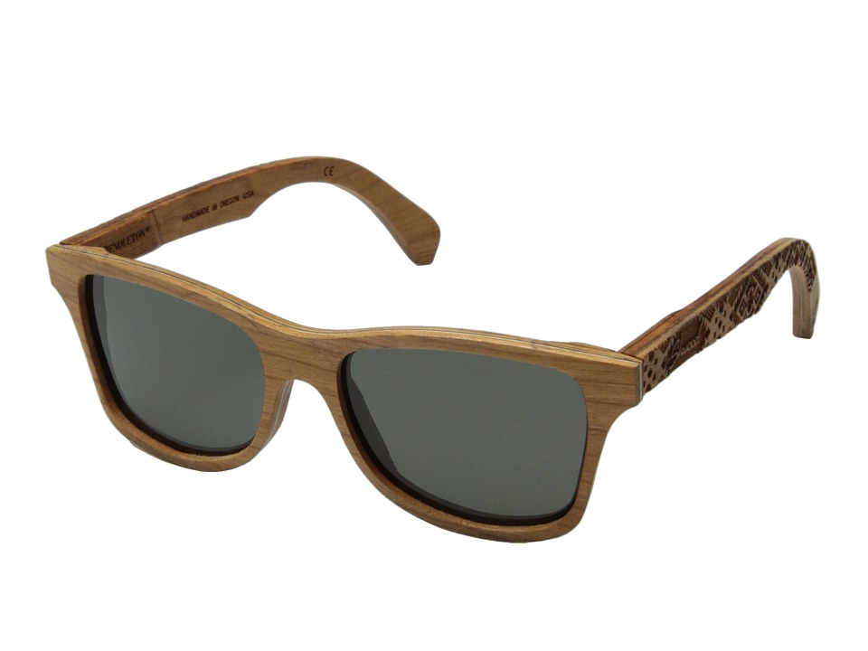Shwood - Canby Pendleton Collection (Pendleton/Cherry/Journey West) Fashion Sunglasses
