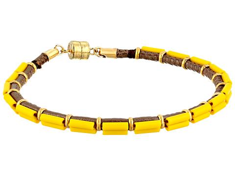 Dogeared - Paradise Found Vibrant Bead Bracelet (Lemon) Bracelet