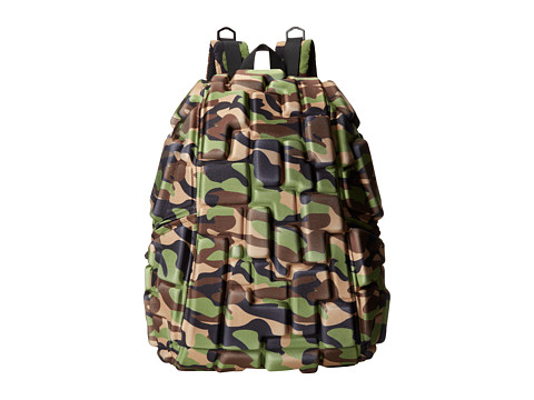MadPax - Camo Blok Full Pack (Camo) Backpack Bags