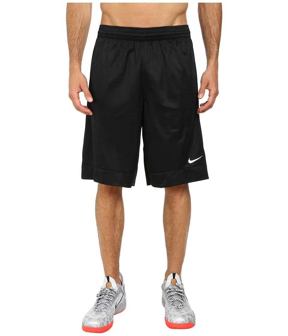 Nike - Fastbreak Short (Black/Black/Black/White) Men's Shorts