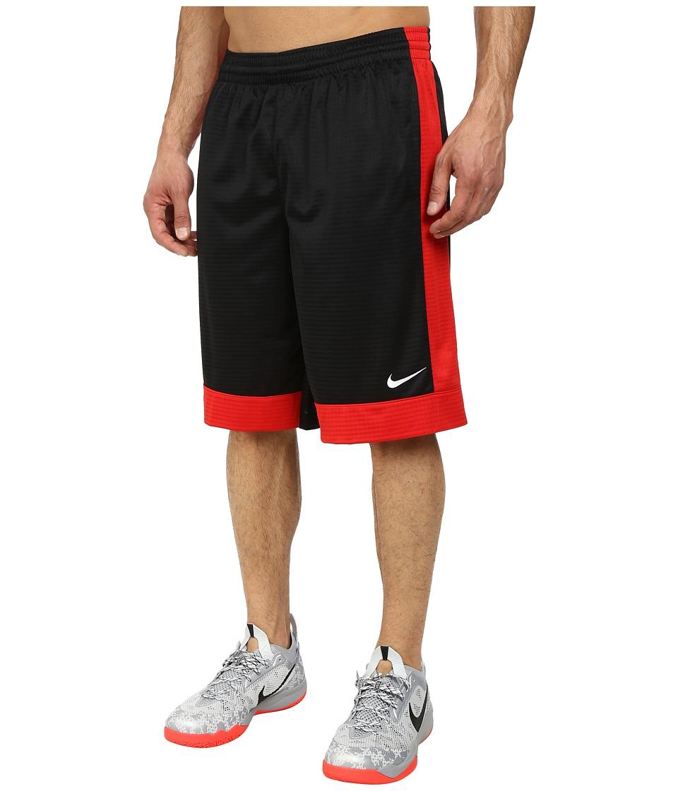 Nike - Fastbreak Short (Black/University Red/University Red/White) Men's Shorts