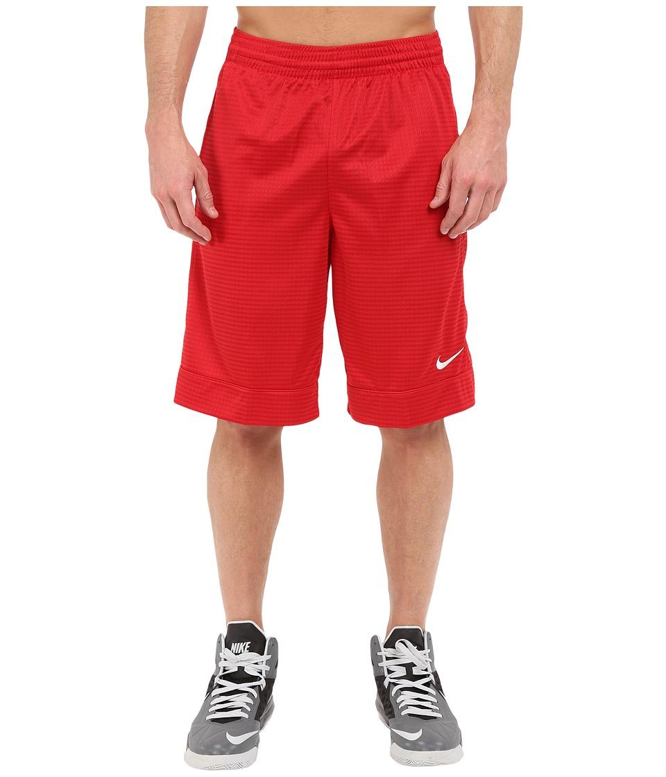 Nike - Fastbreak Short (Gym Red/Gym Red/Gym Red/White) Men's Shorts