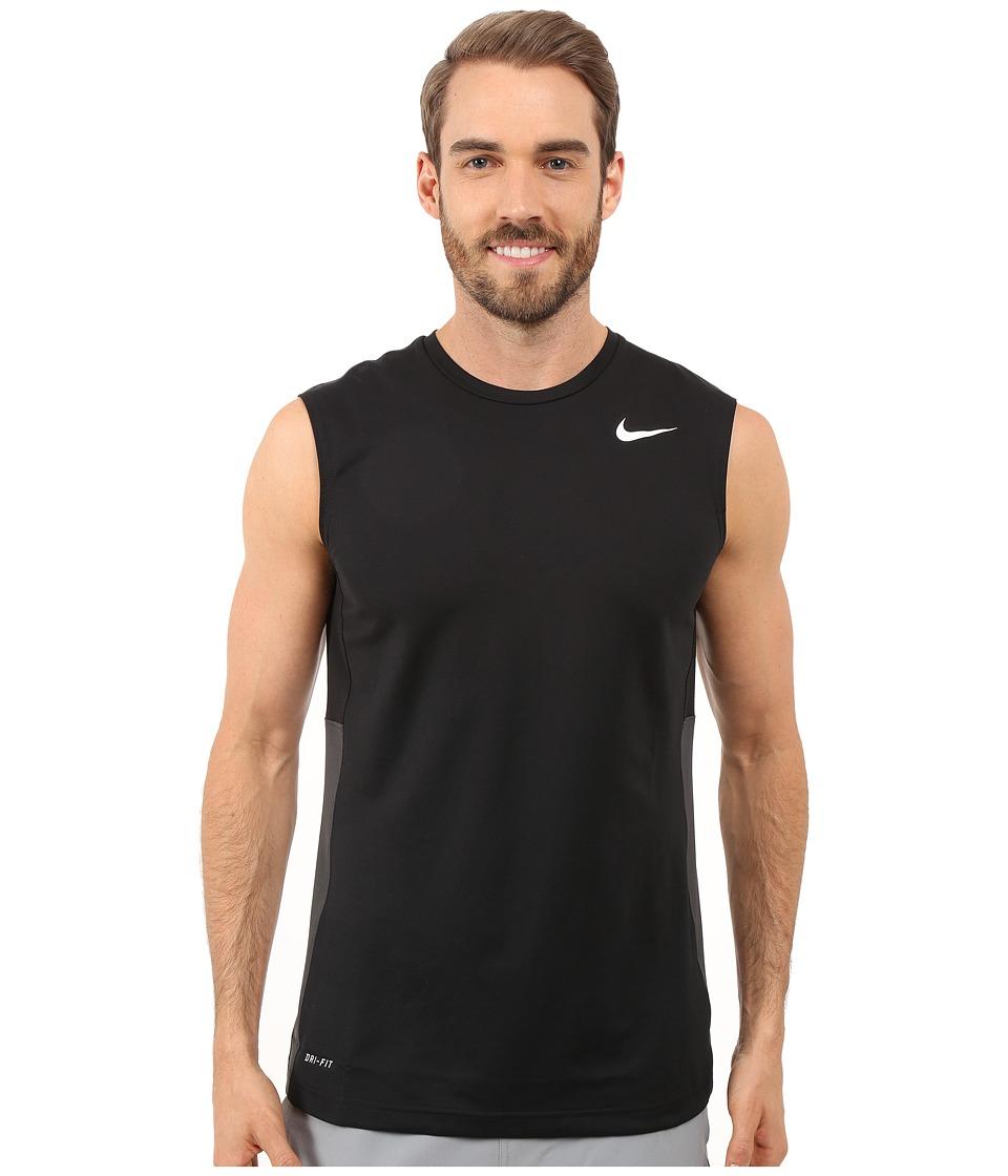 Nike - Crossover Sleeveless (Black/Black/Anthracite/White) Men's Sleeveless