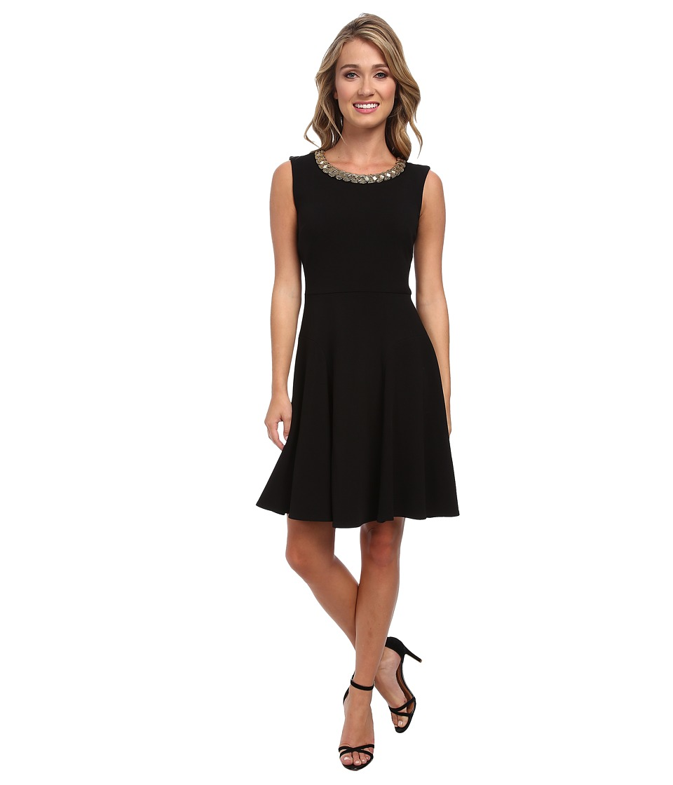 Christin Michaels - Rachel Dress (Black) Women's Dress