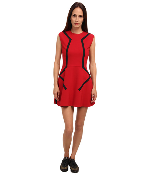 adidas Y-3 by Yohji Yamamoto - Lux H Dress II (Power Red) Women's Dress