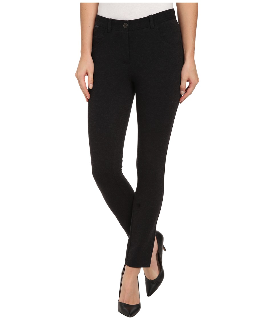 Lacoste - Milano Super Slim Pant (Dark Grey Jaspe) Women