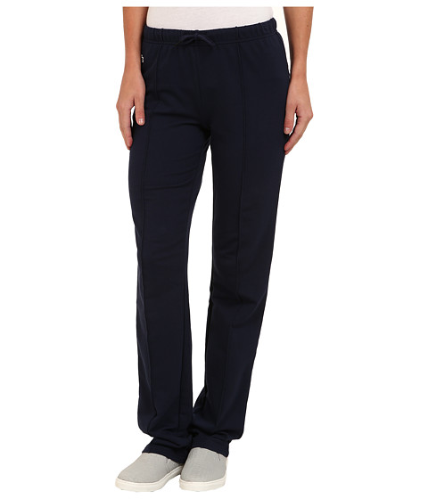 Lacoste - Drawstring Waist Sweatpant (Navy Blue/Chinchilla) Women's Casual Pants