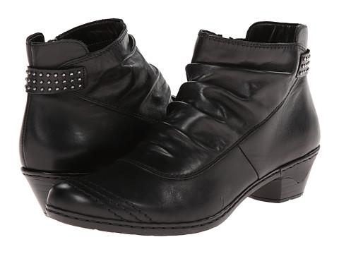 Rieker - 76954 Lynn 54 (Schwarz) Women's Boots