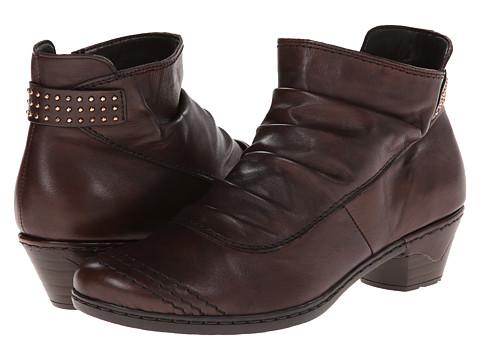 Rieker - 76954 Lynn 54 (Teak) Women's Boots