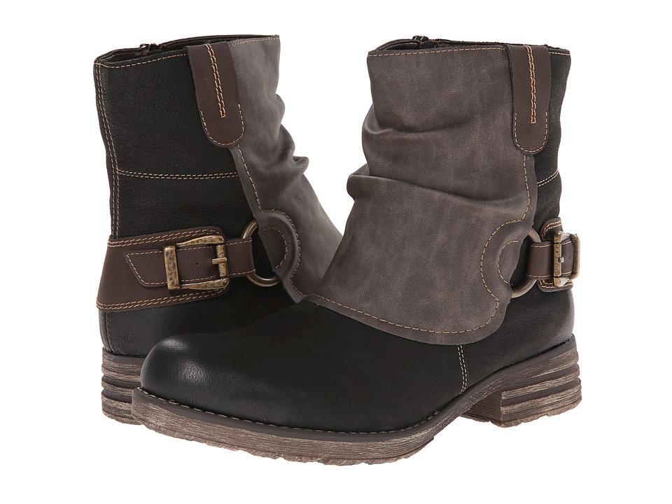 Rieker - R6293 Waynette 93 (Schwarz) Women's Boots