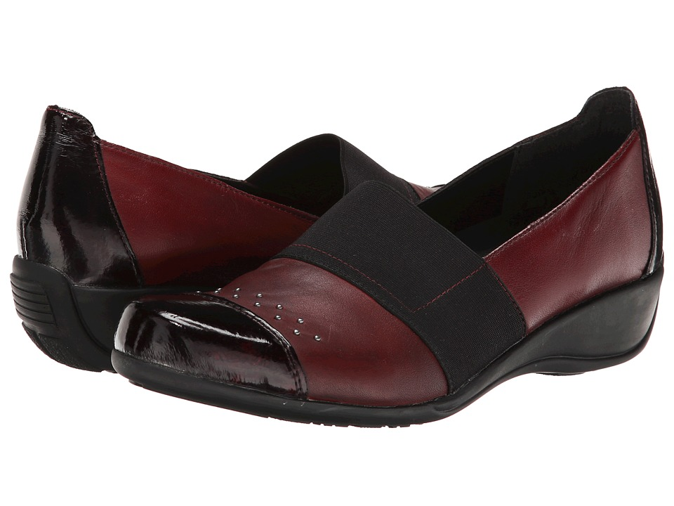 Rieker - R9821 Kati 21 (Bordeaux/Medoc) Women's Shoes