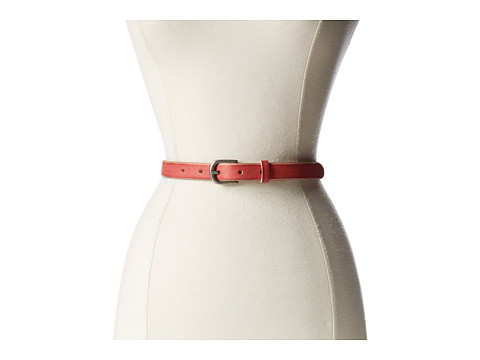 Bill Adler 1981 - Skinny Jelly Bean Belt (Cherry) Women's Belts