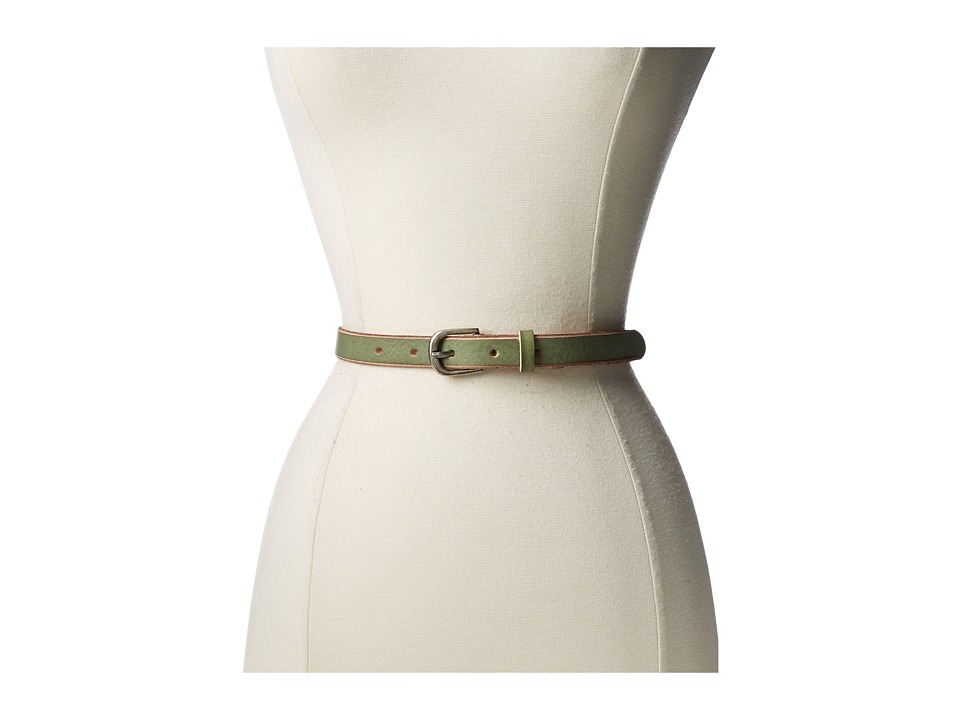 Bill Adler 1981 - Skinny Jelly Bean Belt (Green Apple) Women