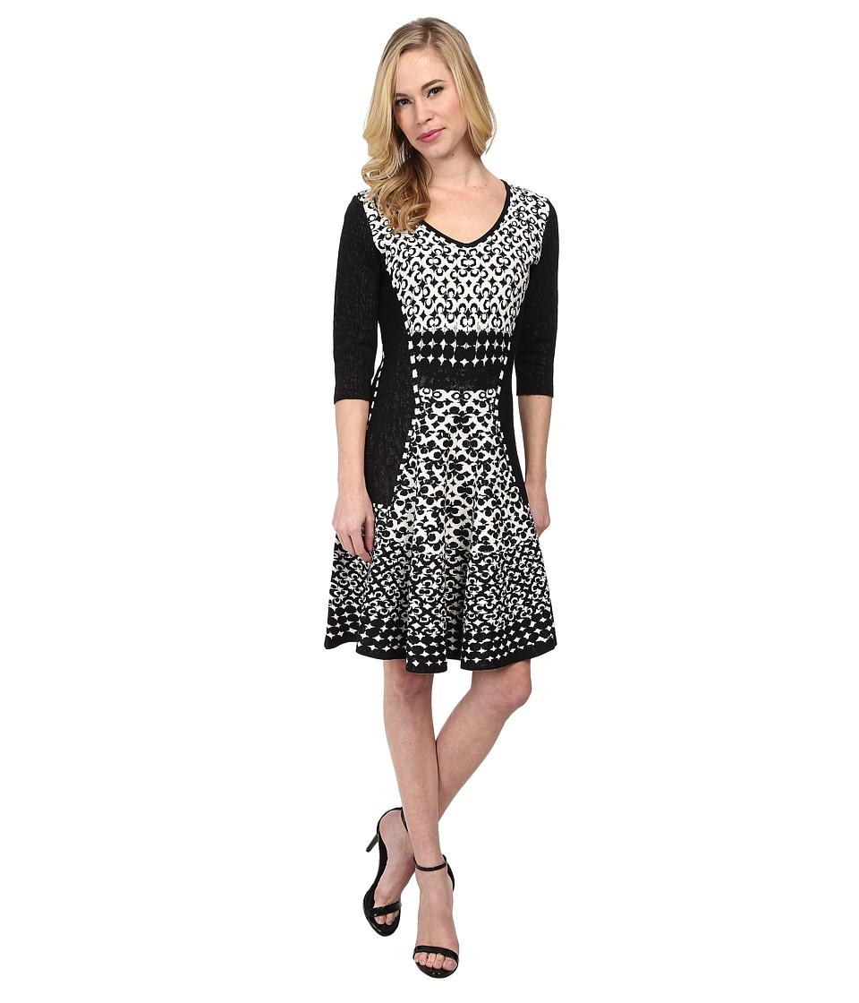 NIC+ZOE - Petite Half Moon Twirl Dress (Multi) Women