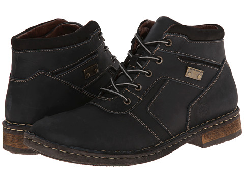 Lobo Solo - Fern (Black Leather) Men's Lace-up Boots