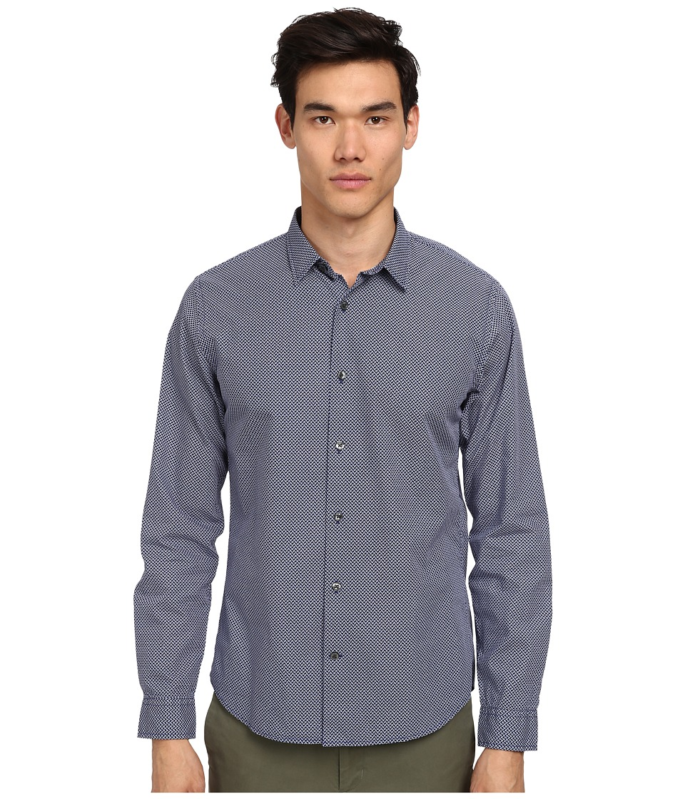 Vince - Melrose L/S Button-Up Shirt (Coastal) Men's Long Sleeve Button Up