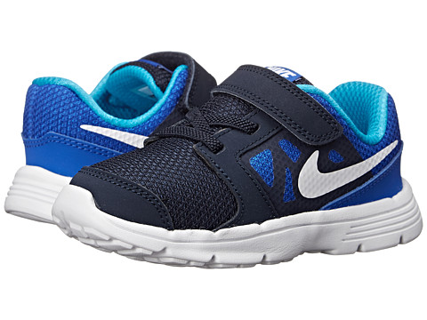 Nike Kids - Downshifter 6 (Infant/Toddler) (Lyon Blue/Obsidian/Blue Lagoon/White) Boys Shoes