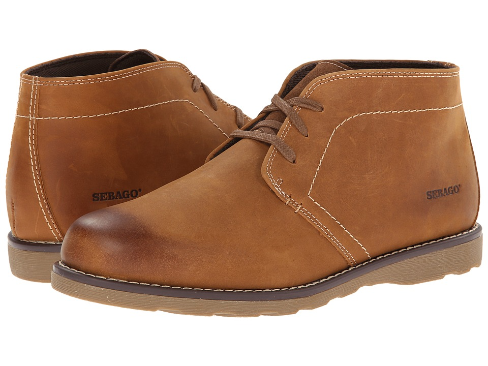 Sebago Reese Chukka (Tan Leather) Men