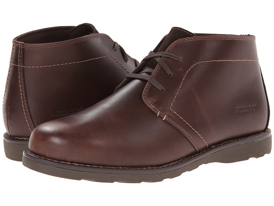 Sebago Reese Chukka (Brown Leather) Men