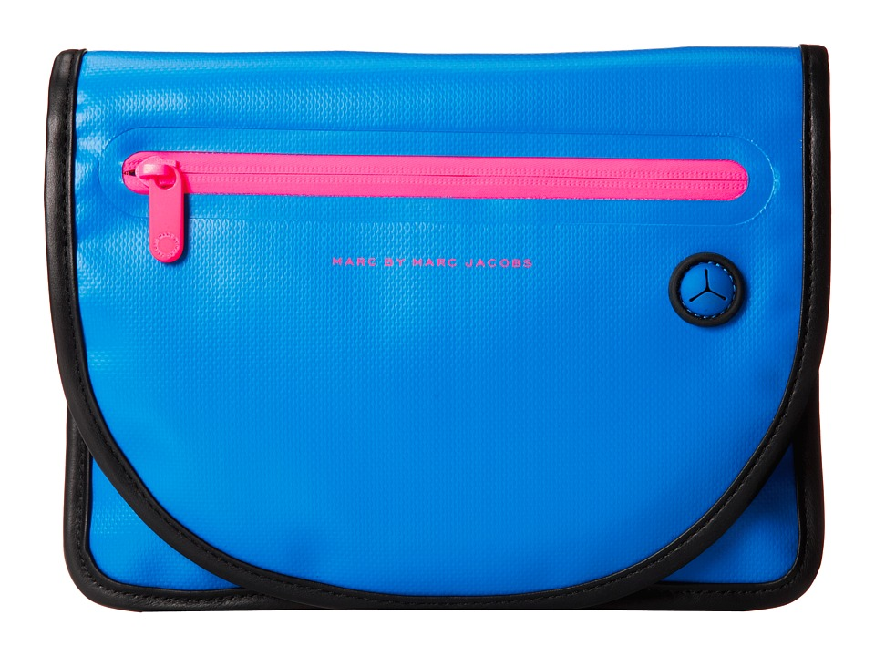 Marc by Marc Jacobs - Luna Tarp Tablet Case (Electric Blue Lemonade) Computer Bags