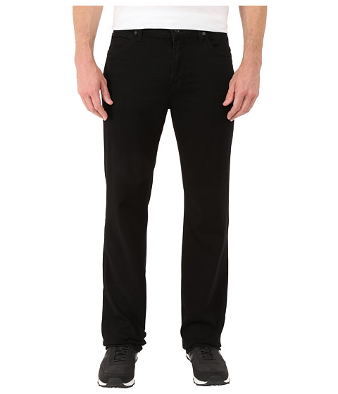 7 For All Mankind - Luxe Performance Austyn Relaxed Straight in Nightshade Black (Nightshade Black) Men's Jeans