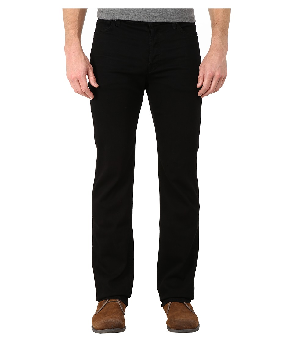 7 For All Mankind - Standard in Nightshade Black (Nightshade Black) Men's Clothing