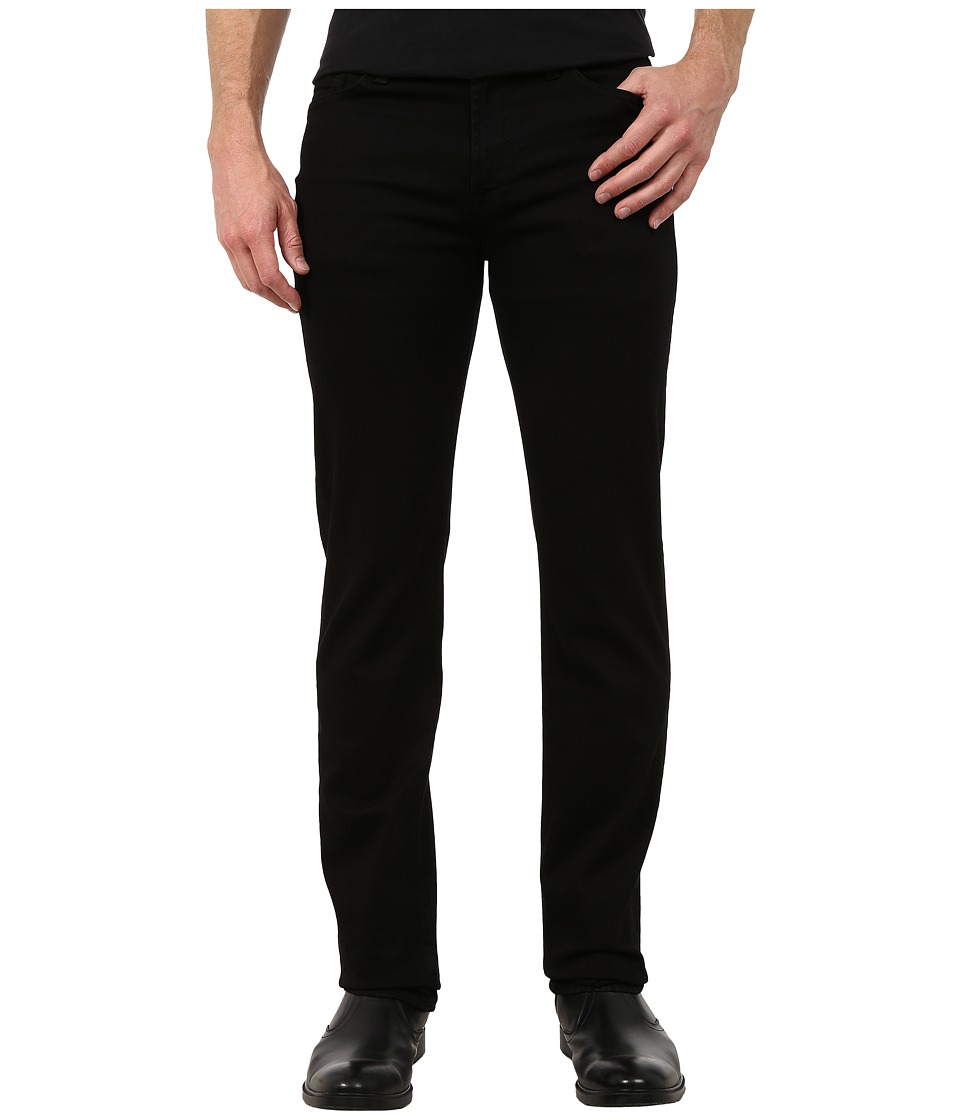 7 For All Mankind - Slimmy in Nightshade Black (Nightshade Black) Men's Clothing