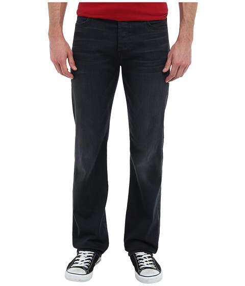 7 For All Mankind - Luxe Performance Standard Straight in Washed Sulfur (Washed Sulfur) Men's Jeans