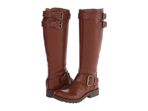 Shop Nine West online and buy Nine West Aragosta Cognac Synthetic Womens Boots shoes online