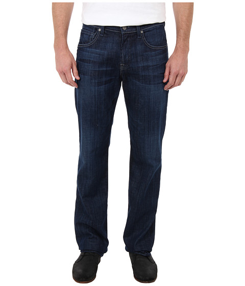7 For All Mankind - Carsen Easy Straight in Phantom Blue (Phantom Blue) Men's Jeans