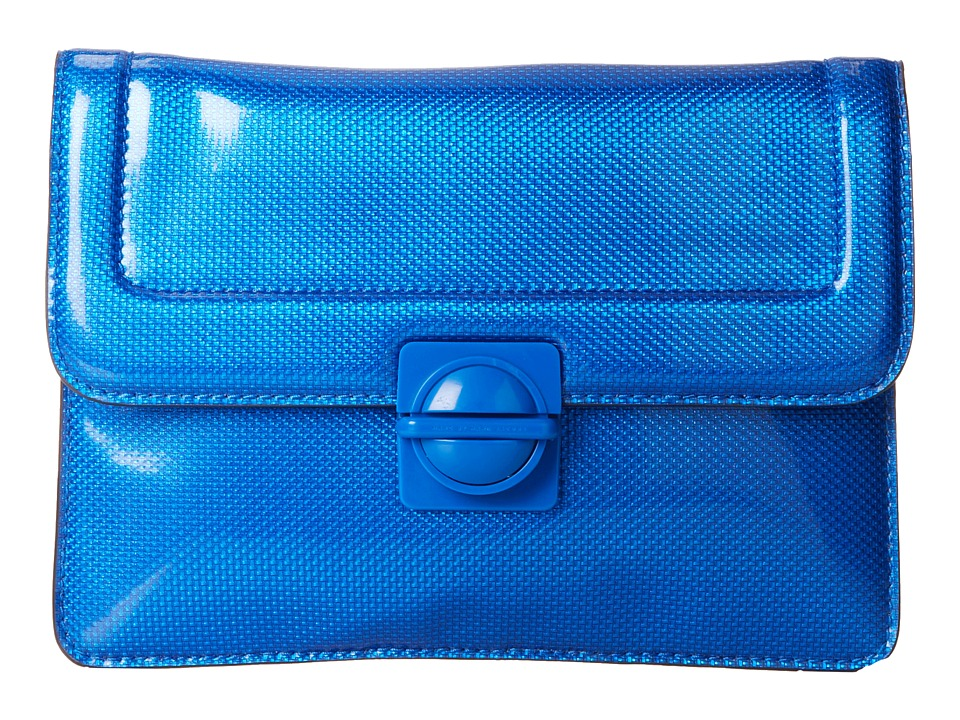 Marc by Marc Jacobs - Top Schooly Reflector Mini Tablet Case (Blue) Computer Bags