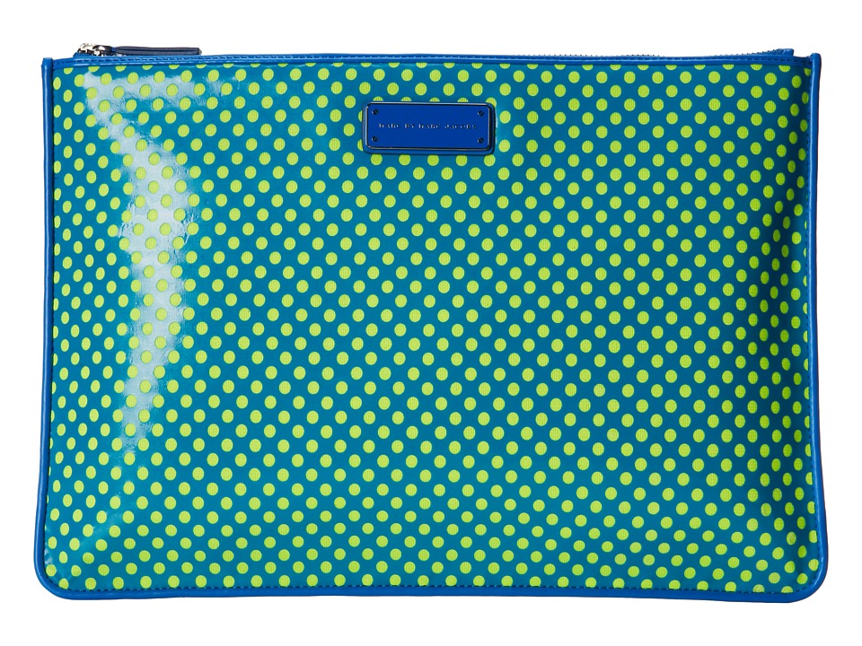 Marc by Marc Jacobs - Techno Mesh 13 Zip Case (Electric Blue Multi) Computer Bags